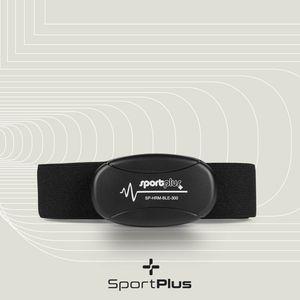SportPlus Brustgurte zur Messung der genauen Herzfrequenz, 5.3 kHz, Pulsmesser für Heimtrainer, Pulsgurt