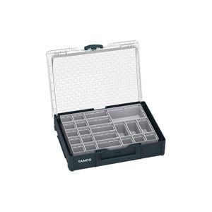 TANOS Systainer³ Organizer M 89 mit 22 Boxen anthrazit (RAL 7016) 83500005