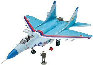 Revell Modellbausatz Flugzeug 1:72 - MiG-29S Fulcrum im Maßstab 1:72, Level 4 originalgetreue Nachbildung mit vielen Details, 03