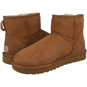 UGG Classic Mini II Boot Stiefel Damen Beige (1016222 CHE) Größe: 38 EU