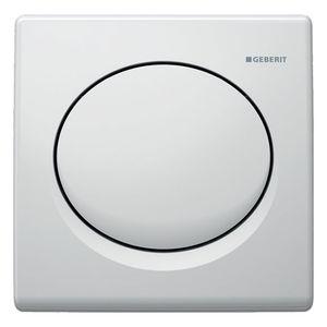 Geberit Urinalsteuerung BASIC weiß mit pneumatischer Spülauslösung 115820115 Geberit 115820115