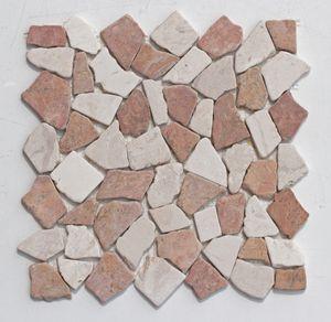 Mosaikfliesen Stein - M-004 - Marmor Mosaik Naturstein Bruchsteinmosaik Bodenfliesen - Fliesen Lager Verkauf Stein-mosaik Herne NRW