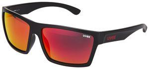UVEX LGL 29 Brille black mat/red