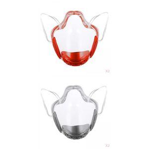 4 Stück transparenter Gesichtsschutz Waschbarer Sicherheitsschutz