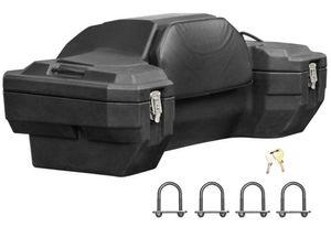 """Heckkoffer mit Rückenlehne """"Typ 8020"""" Gepäckbox - Koffer für QUAD / ATV"""