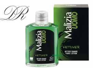 MALIZIA UOMO VETYVER After Shave TONIC Lotion 100ml Rasierwasser