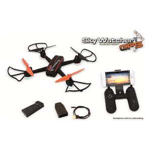 Quadrocopter SkyWatcher GPS, RTF & FPV, Follow me Funktion