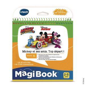 VTECH - Magibook Interactive Book - Mickey und seine Freunde, Top Start