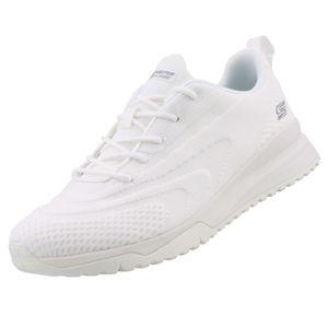 Skechers BOBS Damen Sneaker SQUAD 3 COLOR SWATCH Weiß, Schuhgröße:EUR 38