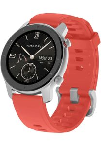 Amazfit - Smartwatch - Amazfit GTR 42MM Coral Red - silicone strap - W1910TY5N