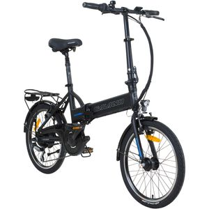 Galano Sector 20 Zoll Faltrad E-Bike Klapprad Pedelec StVZO Elektrofaltrad, Farbe:schwarz