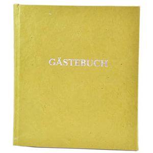 Gästebuch m.Wortprägung grün