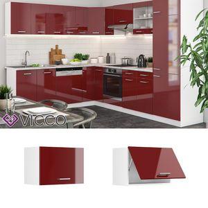 Vicco Hängeschrank 60 cm (flach) Küchenschrank Küchenschränke Küchenunterschrank R-Line Küchenzeile