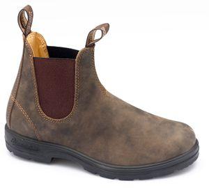 Blundstone Stiefelette braun Leder  585, Größen EU:38.5, Farben:braun