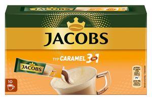 Jacobs 3in1 Typ Caramel | löslicher Kaffee | 10 Sticks