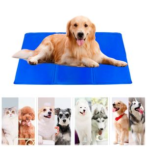 Kühlmatte für Hunde und Katzen Große Haustier-Kühlmatte für Hunde und Katzen zur Regulierung der Körpertemperatur Cooling Pad Hundematte Kühldecke für Hunde und Katzen (60 x 100 cm)