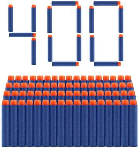 400 Stück 7.2cm Refill Darts Nachfüll Bullets Schaumstoff Pfeile Zubehör für Nerf N-Streik Elite Series