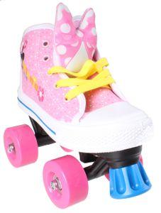 Disney rollschuhe Minnie Maus Mädchen rosa/weiß Größe 30