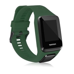 kwmobile Sportarmband kompatibel mit TomTom Adventurer/Runner 3/Spark 3/Golfer 2 - Armband - Silikon Fitnesstracker Band