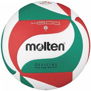 molten Volleyball DVV 2 Wettspielball Weiß/Grün/Rot V5M4500 Gr. 5