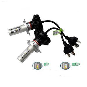 H4 50W LED Scheinwerfer Birnen Leuchte Nachrüstsatz High brightness