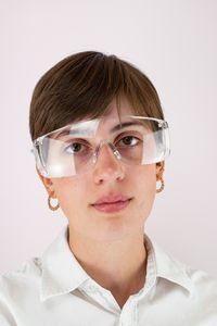 Schutzbrille mit Anti-Fog-Beschichtung DIN EN 166, Anzahl: 1 Stück