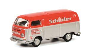 Schuco 452650700 - Modellfahrzeug VW T2a Schlüter, 1:87