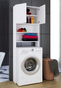 """VCM Waschmaschinenschrank """"Jutas""""   Überbau Waschmaschine"""
