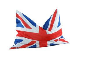 Sitzsack ca. 180 x 140 cm Länderflagge UK Stand.-Var.