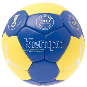 Kempa Spectrum Match Profile Trainingsball - Größe: 2, blau/gelb/weiß, 200186203