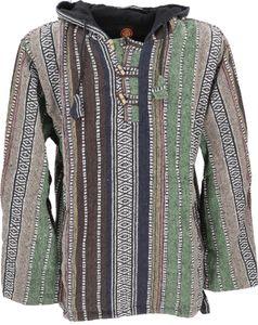 Goa Kapuzenshirt, Baja Hoody - Grün, Herren, Baumwolle, Größe: M