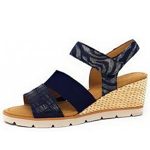 Gabor Sandale Blau Größe 7, Farbe: blau