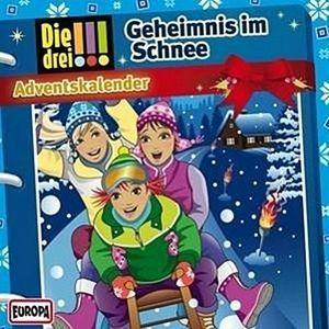 Drei  Adventskalender 2015 - Geheimnis im Schnee (Ausrufezeichen)