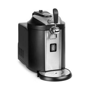 Klarstein Beerkules Bierzapfanlage Bierkühler/für alle 5 l Fässer/Druckmittel: CO2 / UltraFast Cooling Technologie: Kühlung in 4 h/Gehäuse: Kunststoff & Edelstahl/schwarz