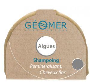 Shampoo-Bar auf Algenbasis für feines Haar, 100% biologisch abbaubar!
