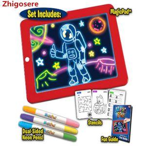 2021 Heiß Malen Lernspielzeug Malen LED Pad für Kinder