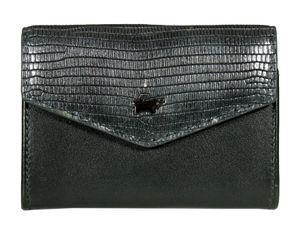 Braun Büffel Lizzy Mini Key Case Wallet Anthrazit