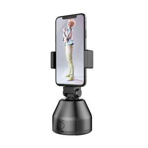 Selfie Stick 360-Grad-Drehung Automatische Gesichtsobjektverfolgung Smart Shooting Pivot-Kamera Telefonhalterung Vlog-Aufnahme Smartphonehalterung