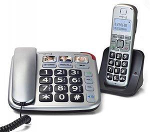 Rulag Festnetztelefon Simly Smart Telefon Set Big Button Combo