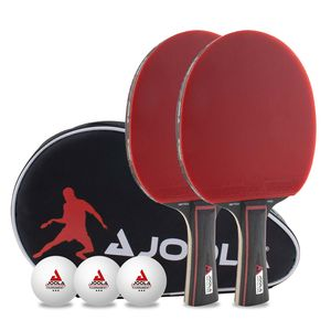 Joola Tischtennis Set Duo Pro   Tischtennisschläger Tischtennisbälle Tischtennishülle Schläger Ball Hülle