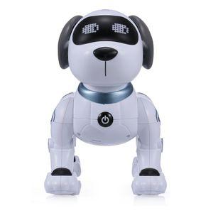 LE NENG SPIELZEUG K16A Elektronische Haustiere Roboter Hund Stunt Dog Voice Command Programmierbare Touch-sense Musik Song Spielzeug fuer Kinder Geburtstag Weihnachtsgeschenk