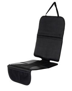 Auto Schutzunterlage für Kindersitz, Isofix geeignet, Babyblume MAXI, schwarz