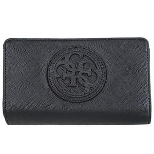 Guess Carly SLG Medium Zip Around VG621145 Damenbörse 17x10x3cm black