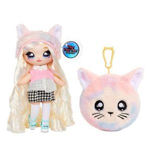 MGA Entertainment 571728E7C Na! Na! Na! Surprise 2-in-1 Pom Doll Series 4 - Paula Purrfect