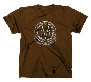 Styletex23 T-Shirt Valar Morghulis GoT, All Men Must Die, braun, L