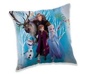 Frozen 2 Anna Elsa Olaf Kissen Kuschelkissen Dekokissen 40 x 40 cm
