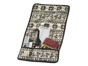 Armlehnenschoner Sesselschoner MALMÖ Paar 3 Taschen