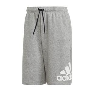 adidas kurze Hose Herren mit Taschen, Größe:XL, Farbe:Grau