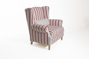 Max Winzer Harvey Big-Sessel - Farbe: rot - Maße: 115 cm x 95 cm x 117 cm; 30001-1100-2077823-2077923-F01