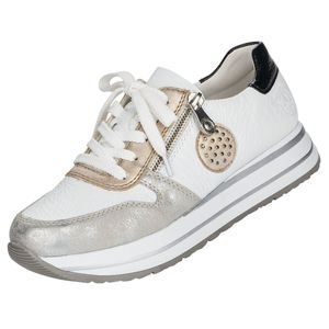 Rieker Damen Sneaker Weiß , Schuhgröße:EUR 41